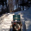 雪下にんじん除雪準備