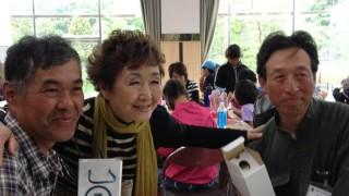登紀子さんと佐渡のトキ