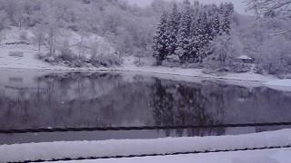 子供達が喜ぶ雪が降りました。
