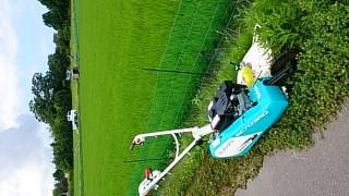 草刈り機!