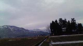 まだまだ雪があります。