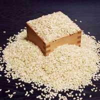 精米したての新鮮な米