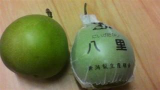 希少な梨です。