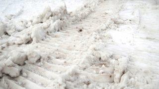雪の広場出現