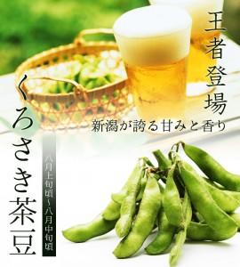 黒埼産茶豆 くろさき茶豆