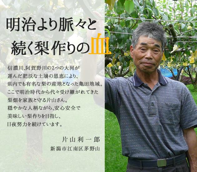 片山 利一郎のプロフィール